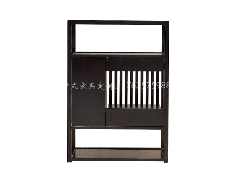 新中式实木茶柜