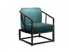 新中式单人沙发R-58