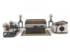 新中式沙发组合R-61