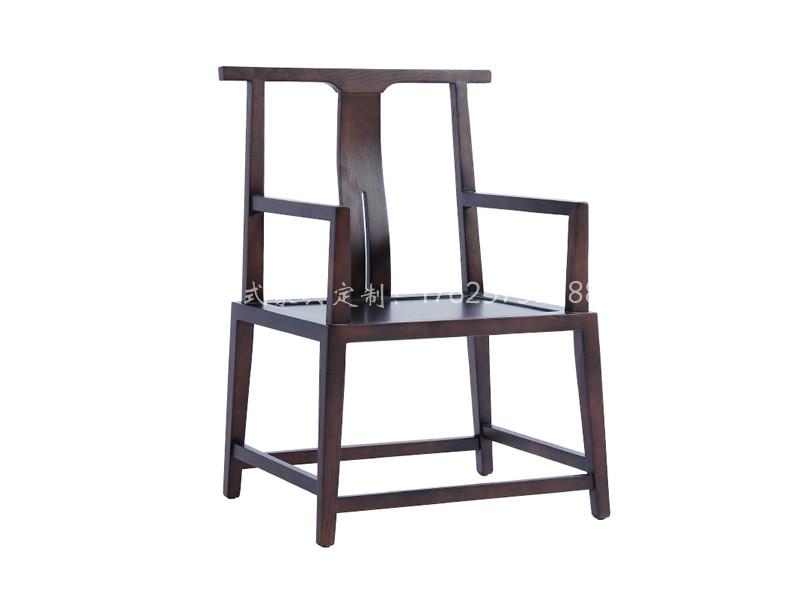 新中式实木书椅