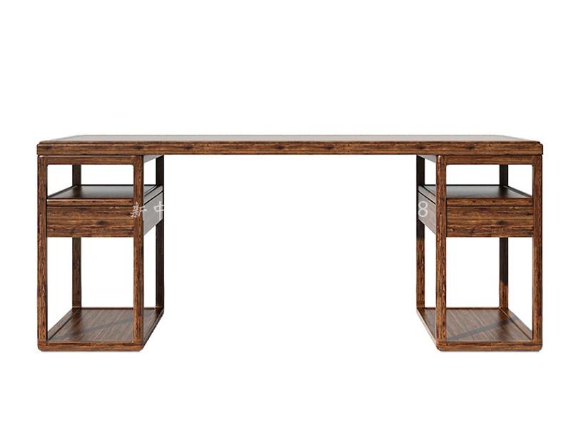 新中式实木书桌