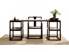 新中式书桌椅组合R-68