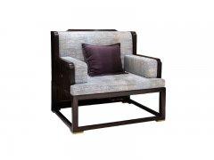 新中式单人沙发R-86
