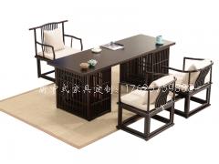 新中式书桌椅组合R-97