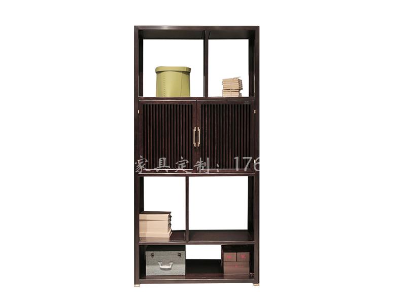 新中式实木书架