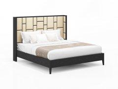 新中式实木床R-115