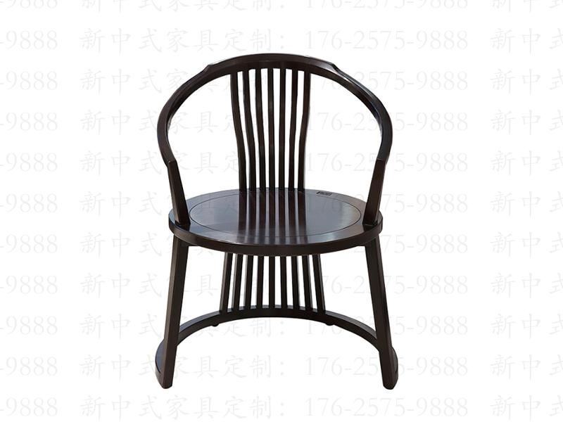 新中式实木餐椅