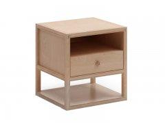 新中式实木床头柜R-153