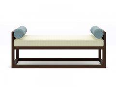新中式床尾凳R-154