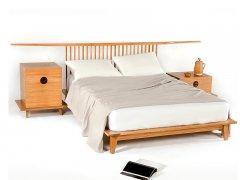 新中式实木床R-161