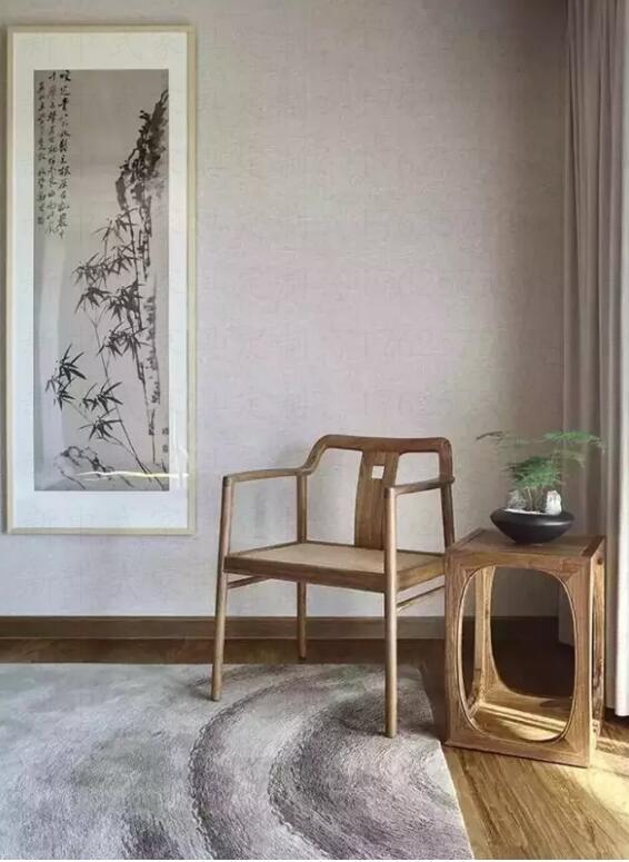 新中式家具之美,线条深远的意境