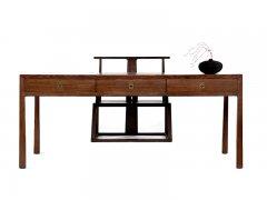 新中式书桌椅组合R-333