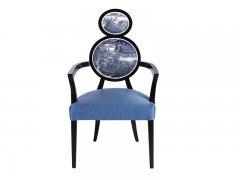 新中式餐椅R-381