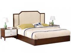 新中式床R-387