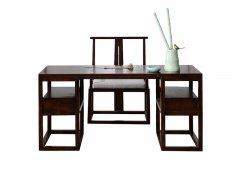 新中式书桌椅R-612