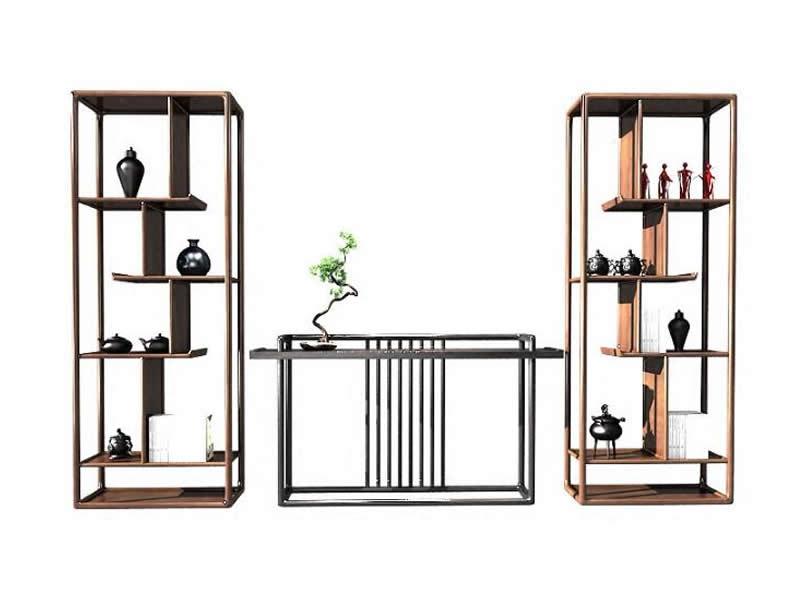 新中式装饰柜组合