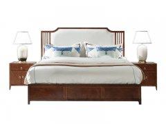 新中式床R-667