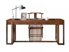 新中式书桌椅组合R-678