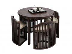 新中式餐桌椅组合R-691