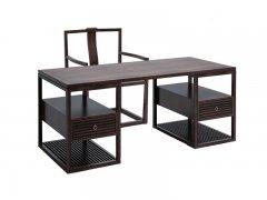 新中式书桌椅R-694