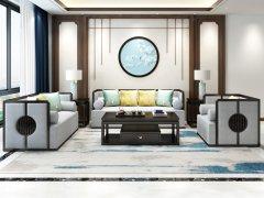 新中式沙发组合R-787