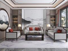 新中式沙发组合R-789