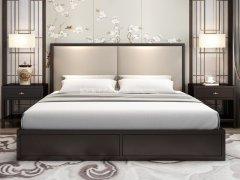 新中式床RJ-BL-808