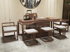 新中式茶桌椅RJ-BL-809