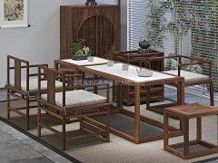 新中式茶桌椅RJ-BL-810