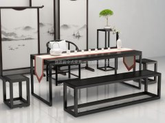 新中式茶室家具RJ-BL-812