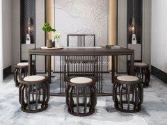 新中式茶室家具RJ-BL-814