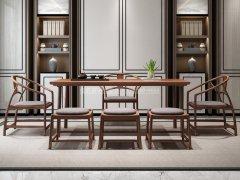 新中式茶室家具RJ-BL-815