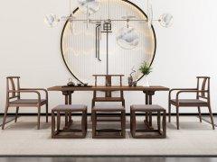 新中式茶室家具RJ-BL-816