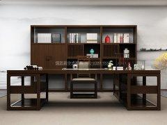 新中式书桌椅R-820