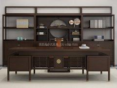 新中式书桌椅R-824