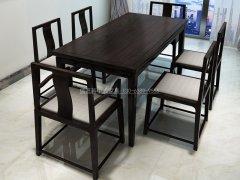 新中式餐桌椅组合R-844