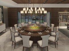 新中式餐桌椅组合R-851
