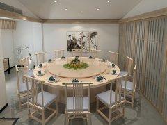 新中式餐桌椅组合R-852