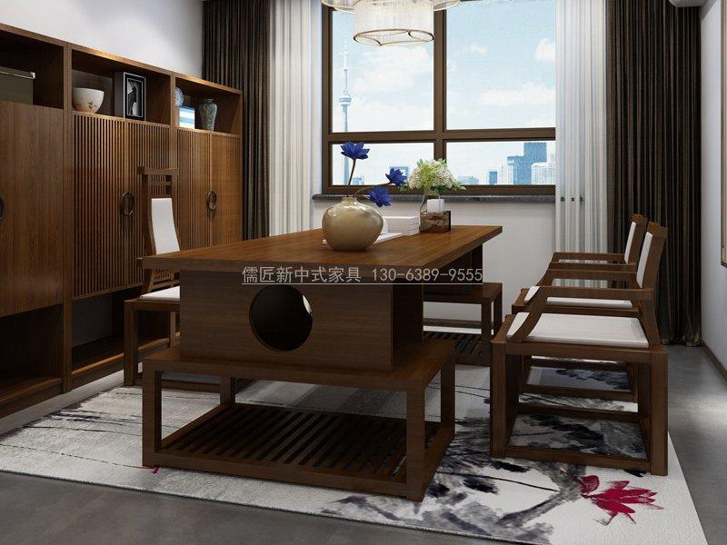 新中式书房家具R-873