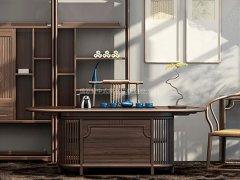新中式书房家具R-881