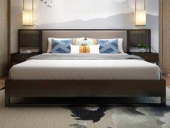 新中式卧室家具R-864
