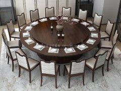 新中式餐桌椅R-790