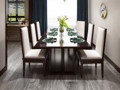 新中式餐桌椅组合R-913