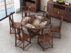 新中式餐桌椅组合R-914