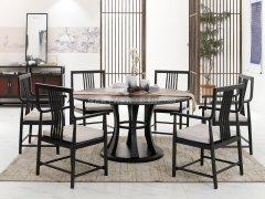 新中式餐桌椅R-955