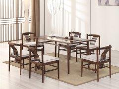 新中式餐桌椅R-956