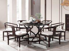 新中式餐桌椅R-958