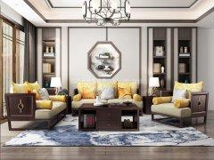 新中式沙发组合R-1112