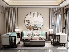 新中式沙发组合R-1114