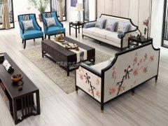 新中式沙发组合R-1115